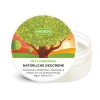 NADEOS Natürliche Deo-Creme Lindenblüte