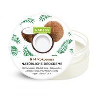 Natürliche Deo Creme Kokosnuss