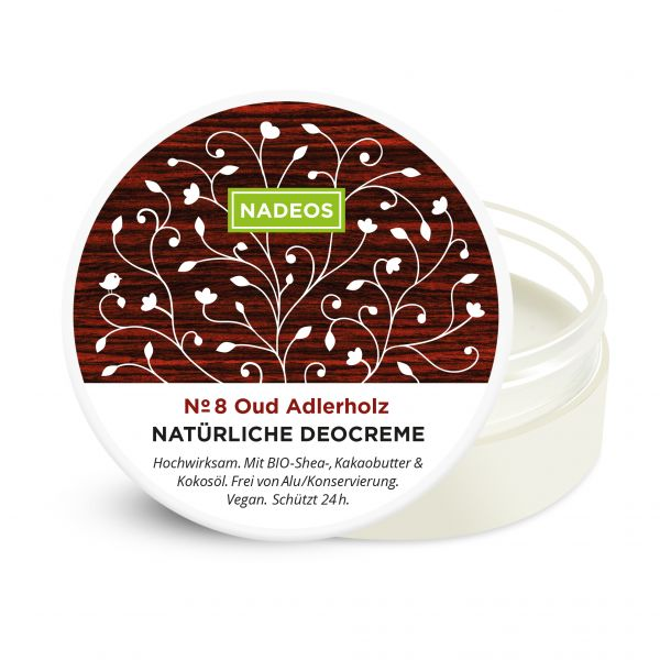 NADEOS Natürliche Deo-Creme Oud Adlerholz