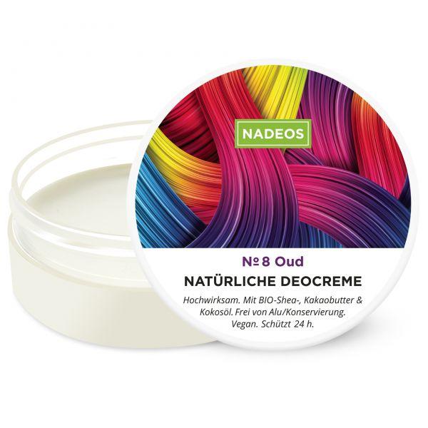 Natürliche Deo Creme Oud - Vegan ohne Aluminium | NADEOS Natürliche ...