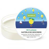 NADEOS Natürliche Deo Creme Lemone