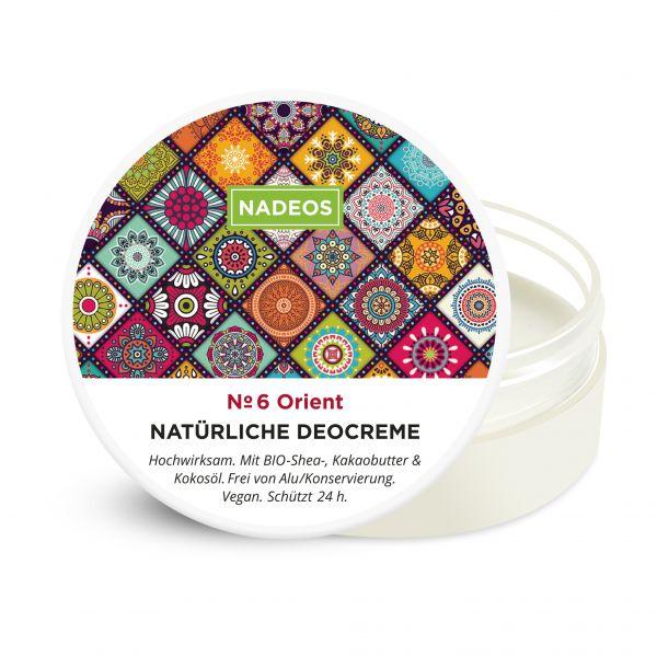 NADEOS Natürliche Deo-Creme Orient