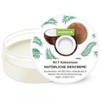 NADEOS Natürliche Deo Creme Kokosnuss